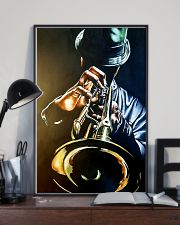 Trumpet Man Art Painting 11x17 Poster lifestyle-poster-2