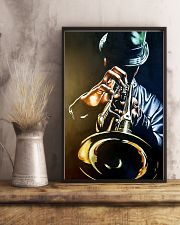 Trumpet Man Art Painting 11x17 Poster lifestyle-poster-3