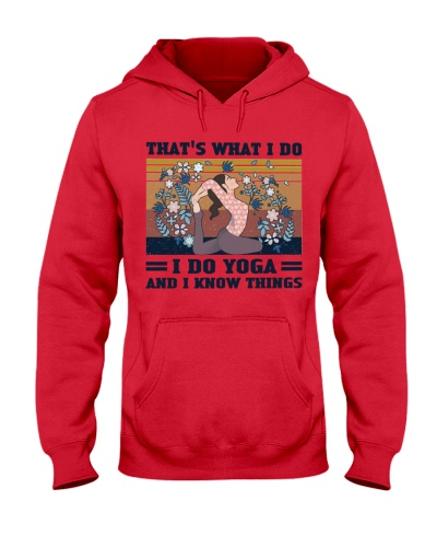 I Do Yoga And I Know Things