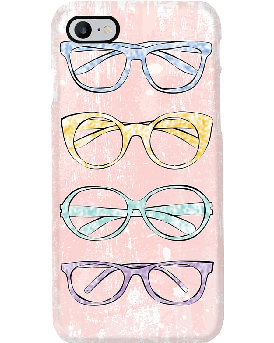 Optometrist Color Pink Glasses  Phone Case