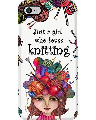 Just A Girl Who Loves Knitting