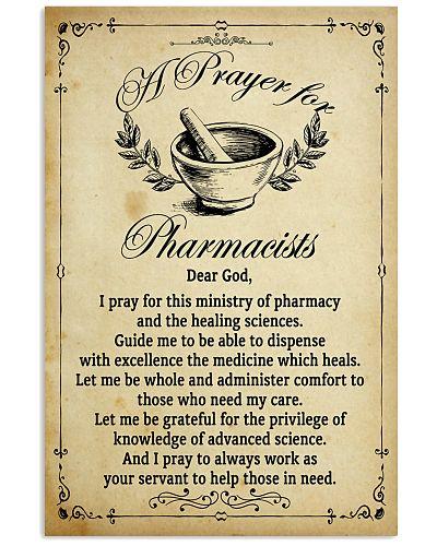 Pharmacist's Prayer