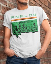 Analog Synthesizer Classic T-Shirt apparel-classic-tshirt-lifestyle-26