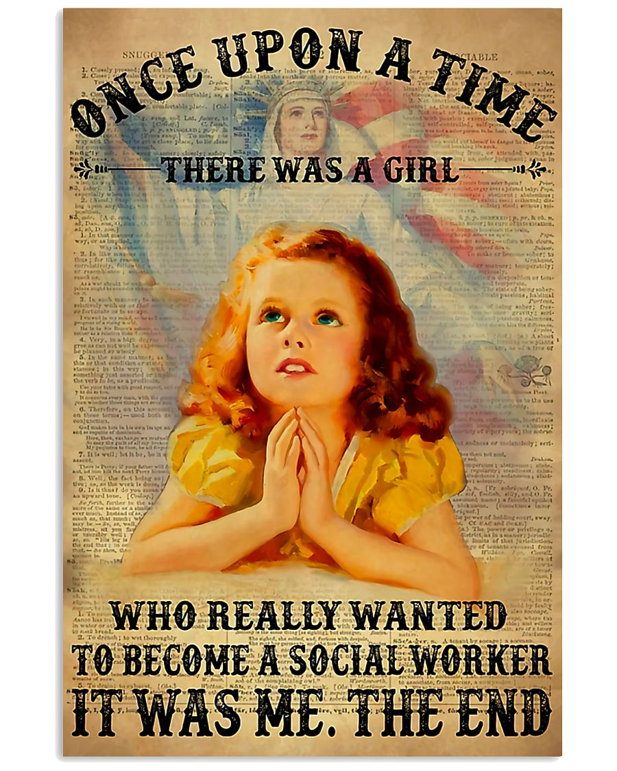 Social Worker Once Upon A Time 11x17 Poster