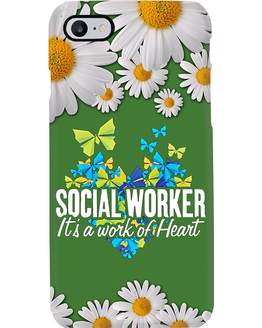 Social Worker A work of heart Phone Case