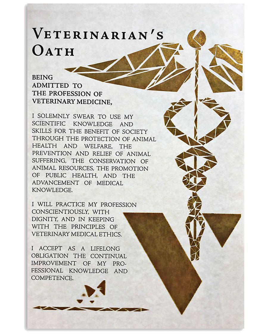 Veterinarian's Oath 11x17 Poster