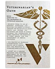 Veterinarian's Oath 11x17 Poster front