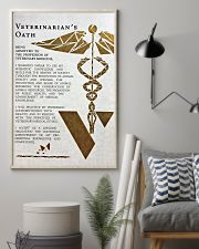 Veterinarian's Oath 11x17 Poster lifestyle-poster-1
