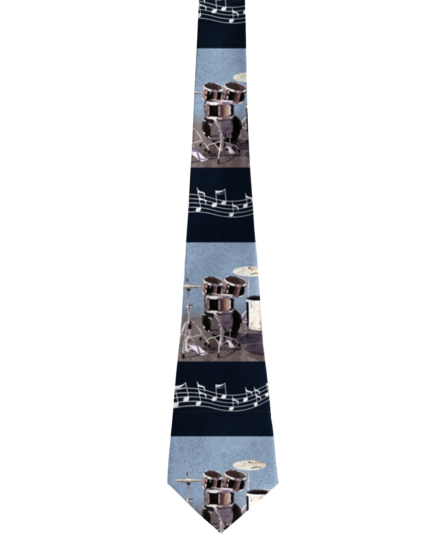 Drummer Music And Drums Tie