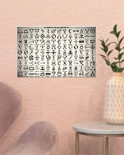 Chemist Symbols Of Alchemists  17x11 Poster poster-landscape-17x11-lifestyle-22