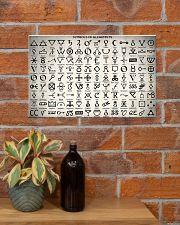 Chemist Symbols Of Alchemists  17x11 Poster poster-landscape-17x11-lifestyle-23