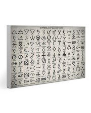 Chemist Symbols Of Alchemists  30x20 Gallery Wrapped Canvas Prints thumbnail