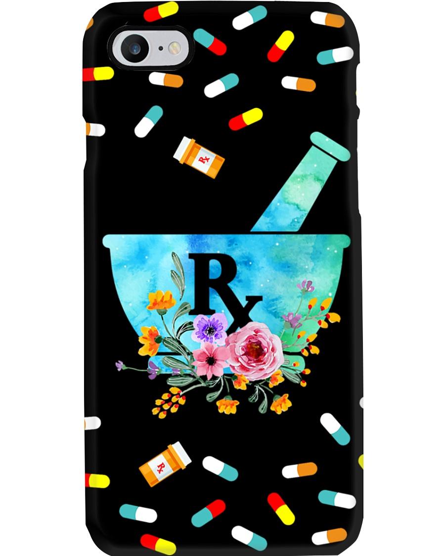 Pharmacist Pharm Tech Flower Phone Case
