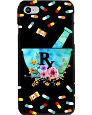 Pharmacist Pharm Tech Flower Phone Case i-phone-7-case