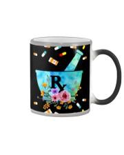 Pharmacist Pharm Tech Flower Color Changing Mug thumbnail