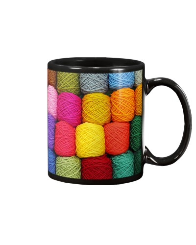 Crochet and Knitting Colorful Yarn Balls