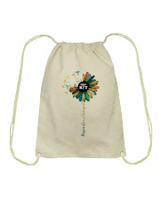 Respiratory Therapist Colorful Caduceus Symbols Drawstring Bag thumbnail