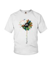 Respiratory Therapist Colorful Caduceus Symbols Youth T-Shirt thumbnail