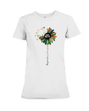 Respiratory Therapist Colorful Caduceus Symbols Premium Fit Ladies Tee thumbnail