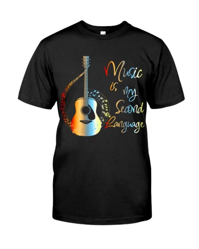 Guitarist Music Is My Second Language