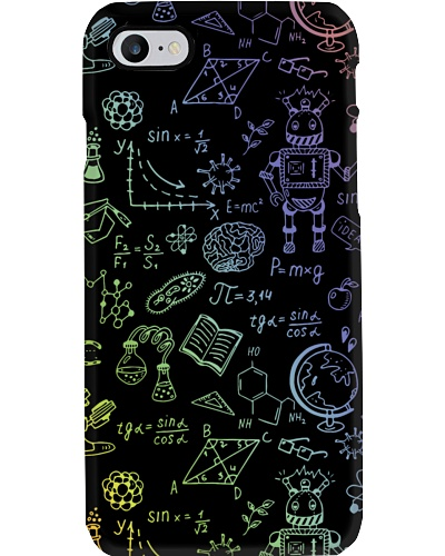 Science Icons Drawings Phonecase