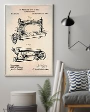 Sewing Machine Patent Vintage Print  11x17 Poster lifestyle-poster-1