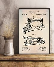 Sewing Machine Patent Vintage Print  11x17 Poster lifestyle-poster-3