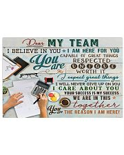 Accountant - You Are The Reason I Am Here 17x11 Poster front