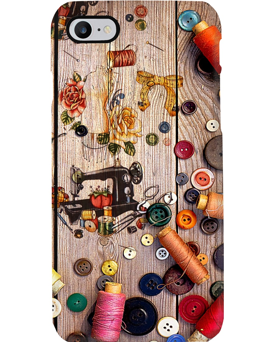 Sewing Icons Phone Case
