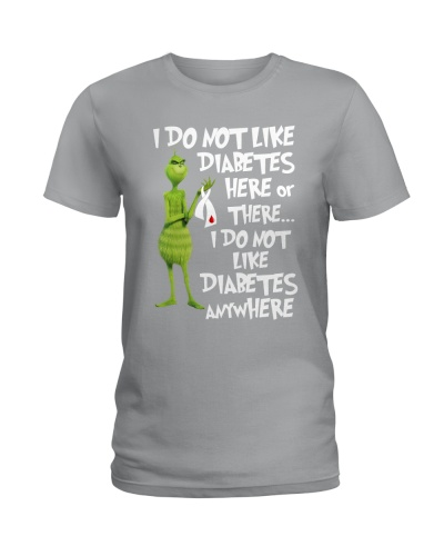 I don't like Diabetes here or there
