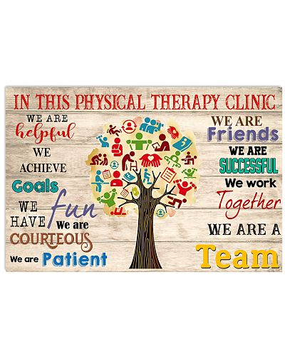 In This Physical Therapy Clinic We Work Together