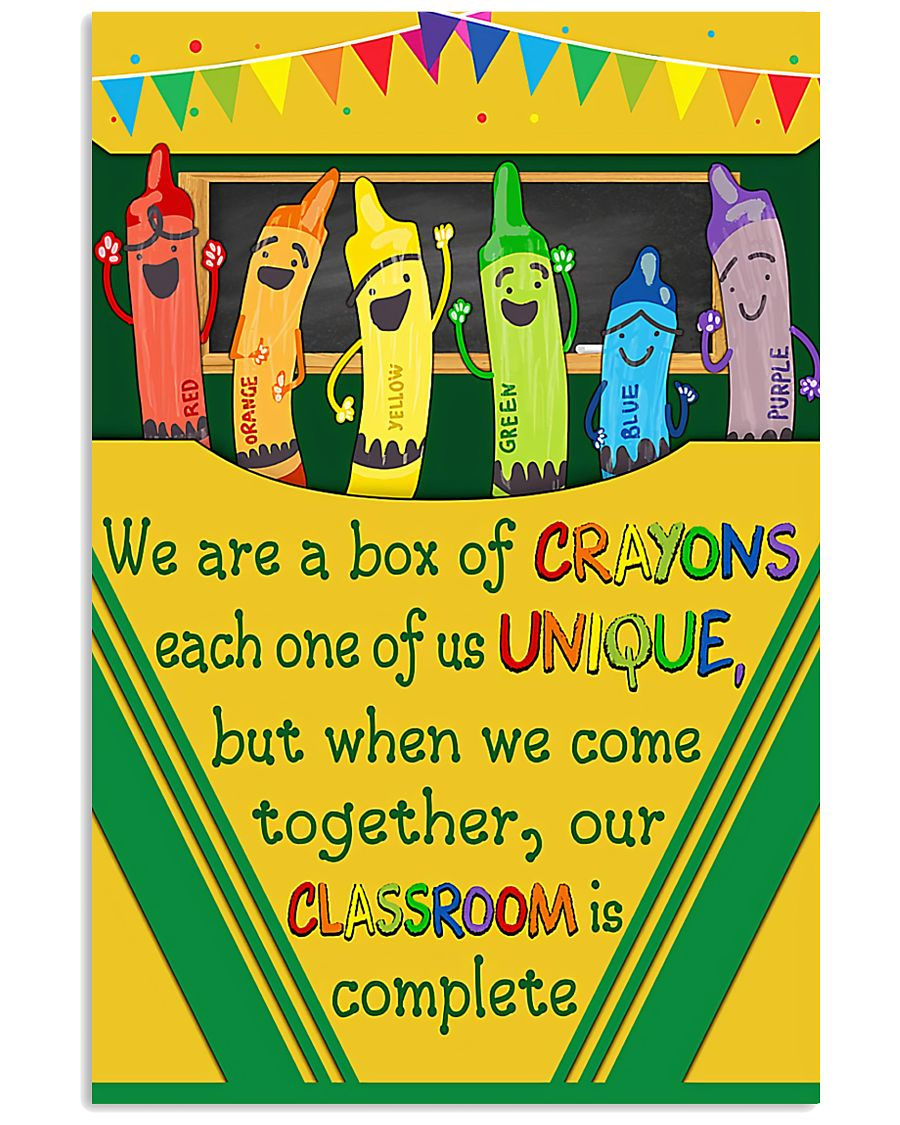 Teacher Our Classroom Is Complete 11x17 Poster