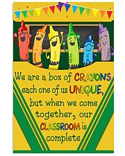 Teacher Our Classroom Is Complete 11x17 Poster front