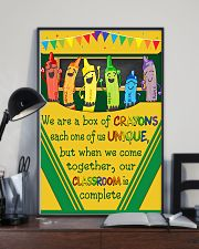 Teacher Our Classroom Is Complete 11x17 Poster lifestyle-poster-2