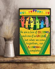 Teacher Our Classroom Is Complete 11x17 Poster lifestyle-poster-3