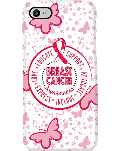 Breast Butterfly Phonecase