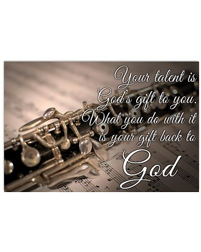 Oboe - Your talent is God's gift to you