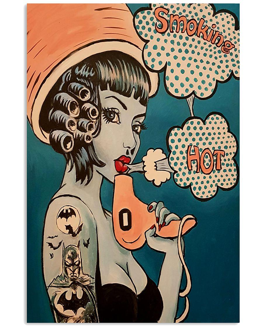 Vintage Retro Hairdresser 11x17 Poster