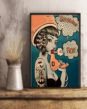 Vintage Retro Hairdresser 11x17 Poster lifestyle-poster-3