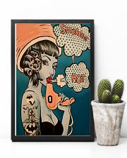 Vintage Retro Hairdresser 11x17 Poster lifestyle-poster-8