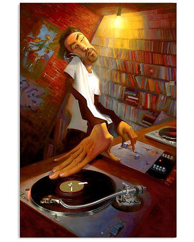 DJ Man Spinning