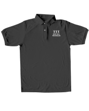 Social Worker Polo shirt Classic Polo embroidery-polo-short-sleeve-layflat-front
