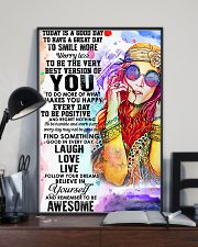 Redhead - Believe In Yourself  11x17 Poster lifestyle-poster-2