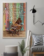 Pianist What a wonderful world 11x17 Poster lifestyle-poster-1