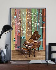 Pianist What a wonderful world 11x17 Poster lifestyle-poster-2