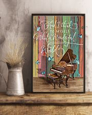 Pianist What a wonderful world 11x17 Poster lifestyle-poster-3