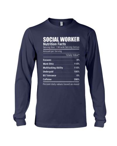Social Worker Nutrition Facts