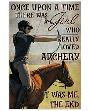 There Was A Girl Who Really Loved Archery 11x17 Poster front