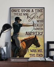 There Was A Girl Who Really Loved Archery 11x17 Poster lifestyle-poster-2