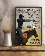 There Was A Girl Who Really Loved Archery 11x17 Poster lifestyle-poster-3